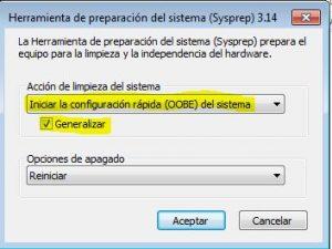 Realizando SysPrep en Windows 10